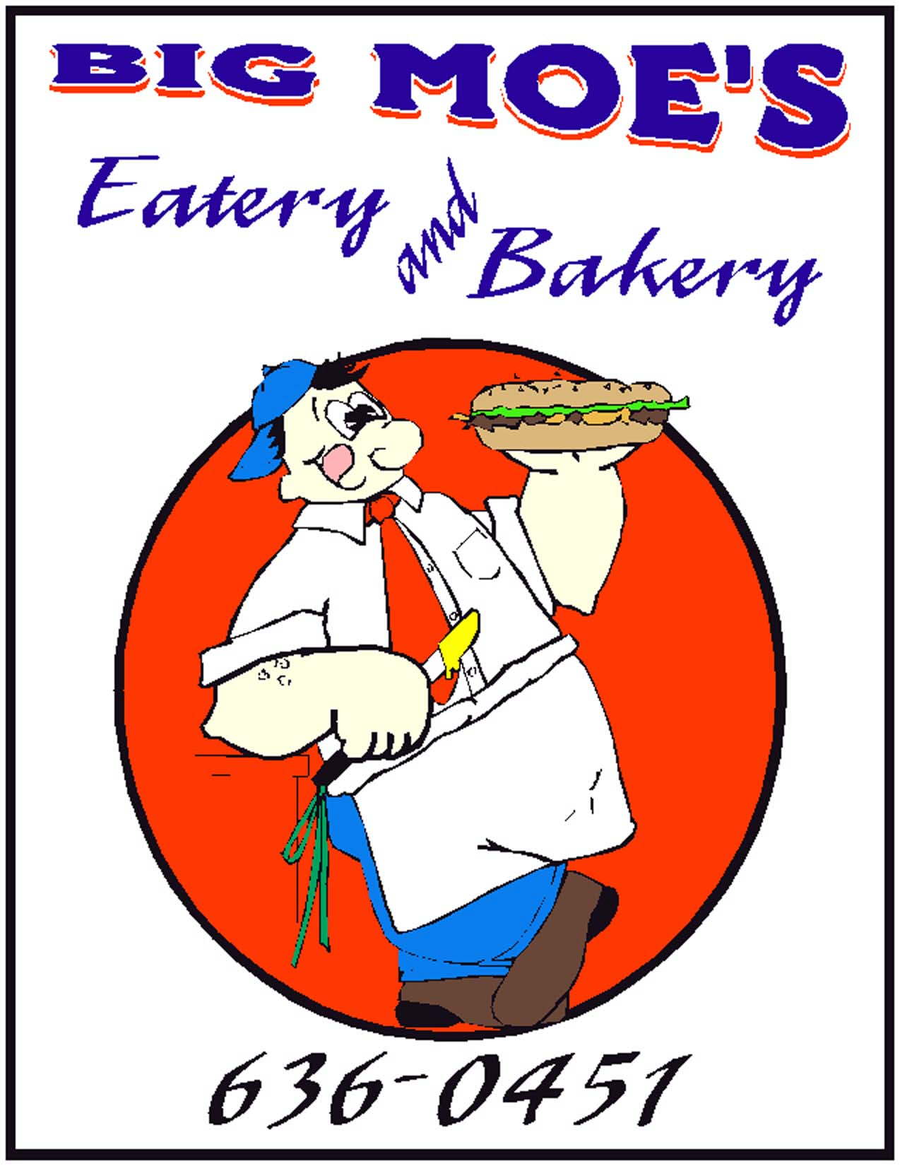 Big Moe's Eatery and Bakery - $10 Certificate