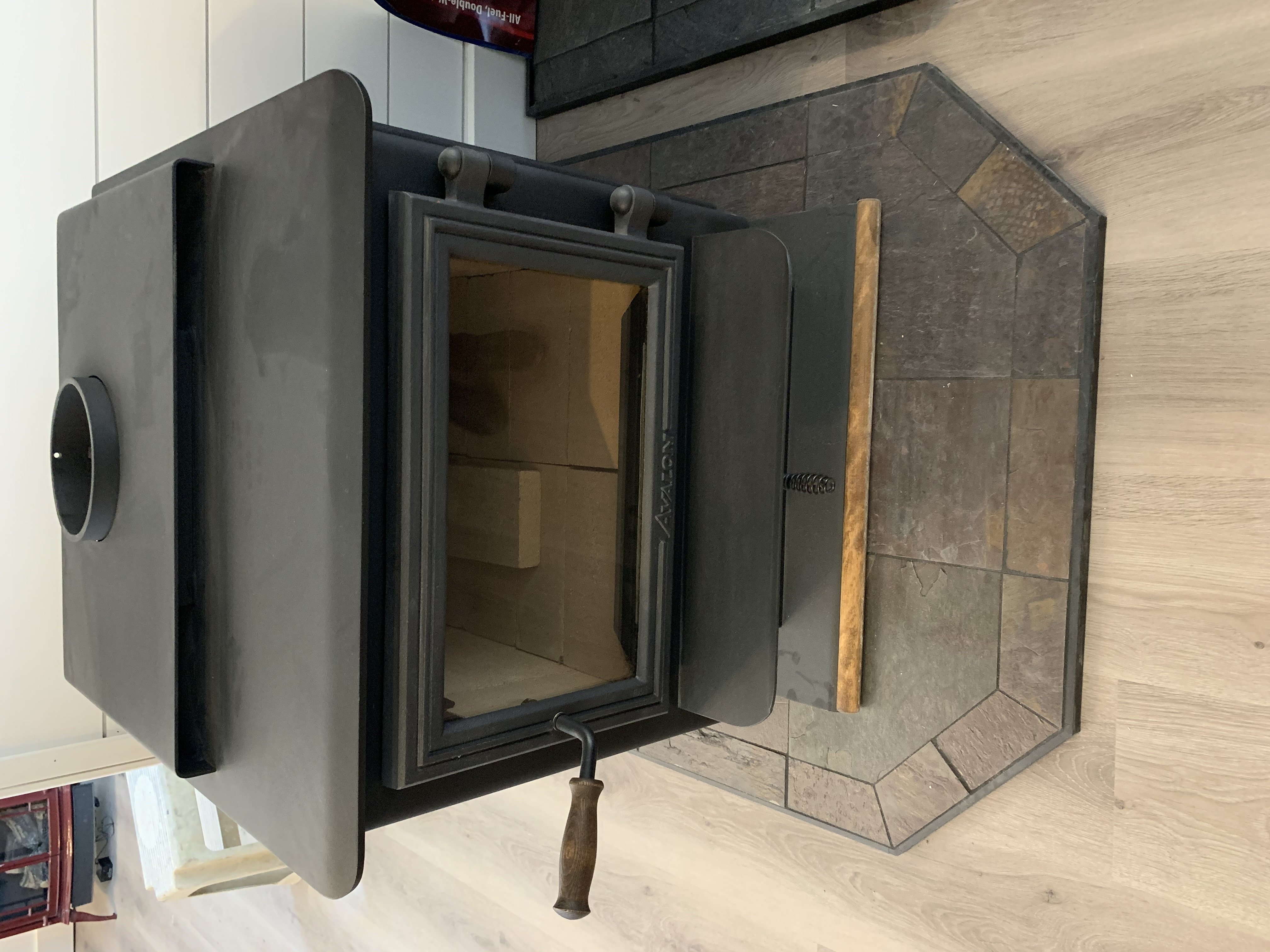 A JOHNSON HEATING - WOOD STOVE